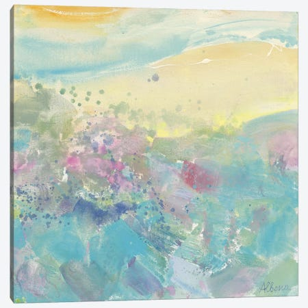 Sweet Meadow Canvas Print #WAC3791} by Albena Hristova Canvas Artwork