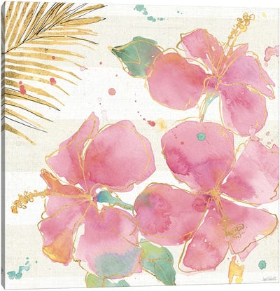 Flamingo Fever VII Canvas Print #WAC3801