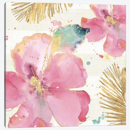 Flamingo Fever VIII Canvas Print #WAC3802} by Anne Tavoletti Canvas Art