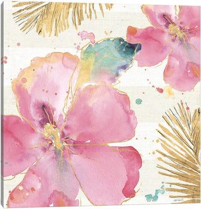Flamingo Fever VIII Canvas Art Print