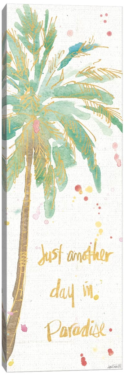 Flamingo Fever X Canvas Art Print