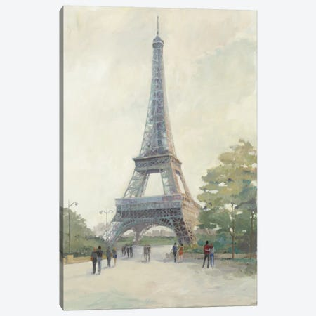 Early Evening Paris Canvas Print #WAC3808} by Avery Tillmon Canvas Art