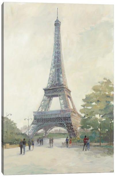 Early Evening Paris Canvas Print #WAC3808