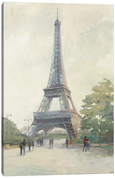 Early Evening Paris Canvas Art Print