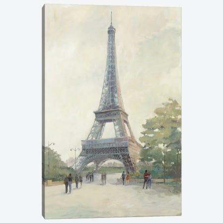 Early Evening Paris Canvas Print #WAC3808} by Avery Tillmon Canvas Art