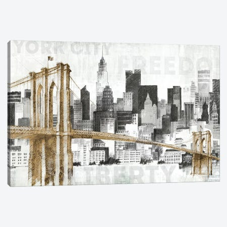 New York Skyline I Canvas Print #WAC3811} by Avery Tillmon Canvas Print