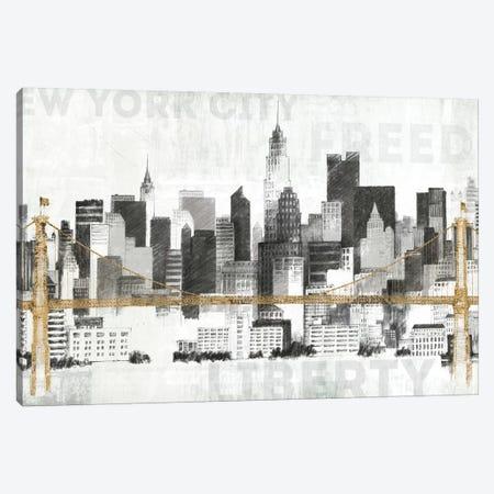 New York Skyline II Canvas Print #WAC3812} by Avery Tillmon Canvas Art Print