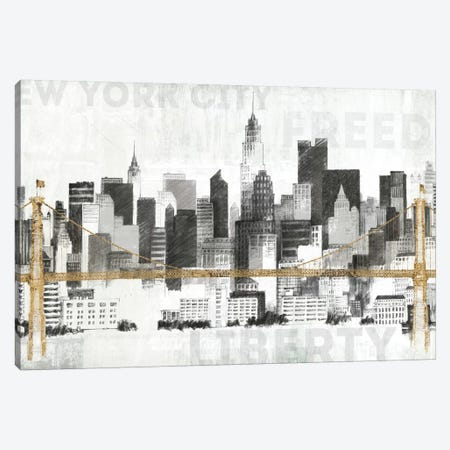 New York Skyline II Canvas Print #WAC3812} by Avery Tillmon Canvas Art Print