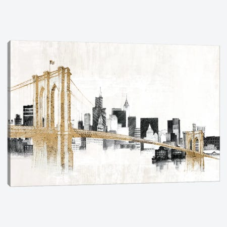 Skyline Crossing 3-Piece Canvas #WAC3813} by Avery Tillmon Canvas Print