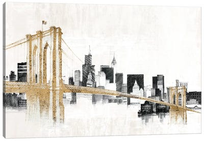 Skyline Crossing Canvas Art Print