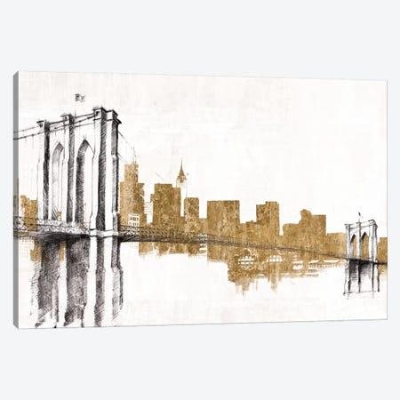 Skyline Crossing (Gold) Canvas Print #WAC3814} by Avery Tillmon Canvas Artwork