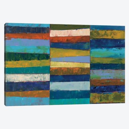 Abstract Stripe II Canvas Print #WAC3824} by Cheryl Warrick Canvas Print