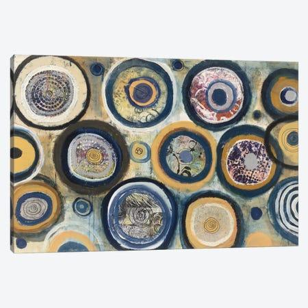 Circle Song Canvas Print #WAC3825} by Cheryl Warrick Art Print
