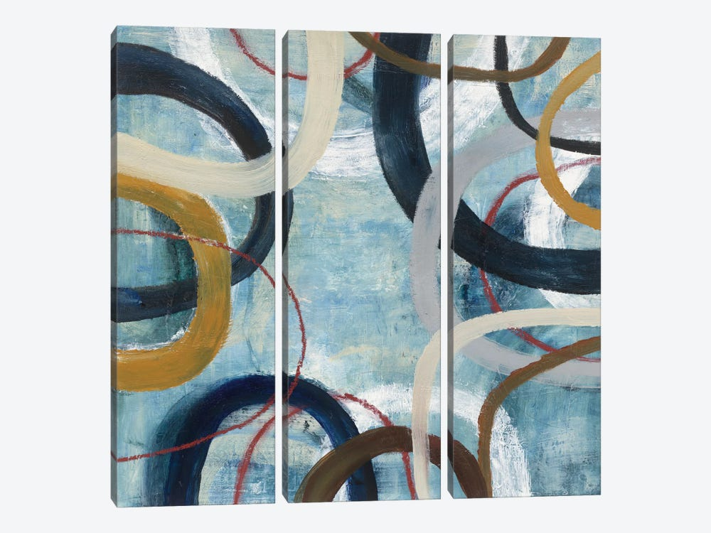 Dwell I by Cheryl Warrick 3-piece Art Print