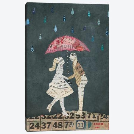 Cute Couple II Canvas Print #WAC3830} by Courtney Prahl Art Print
