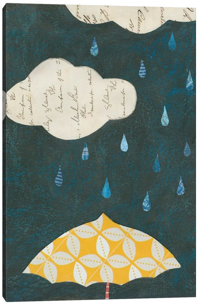 Spring Rain I Canvas Print #WAC3832