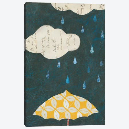 Spring Rain I Canvas Print #WAC3832} by Courtney Prahl Art Print