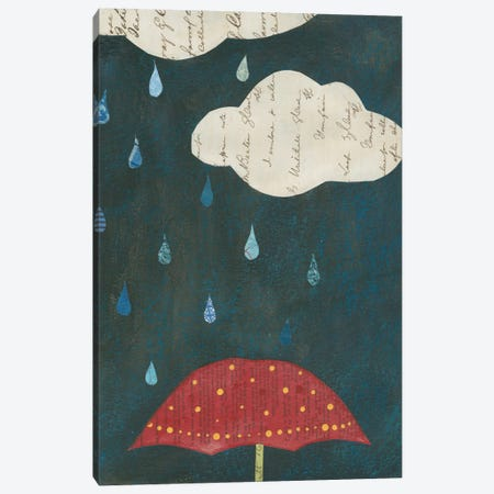 Spring Rain II Canvas Print #WAC3833} by Courtney Prahl Canvas Art Print