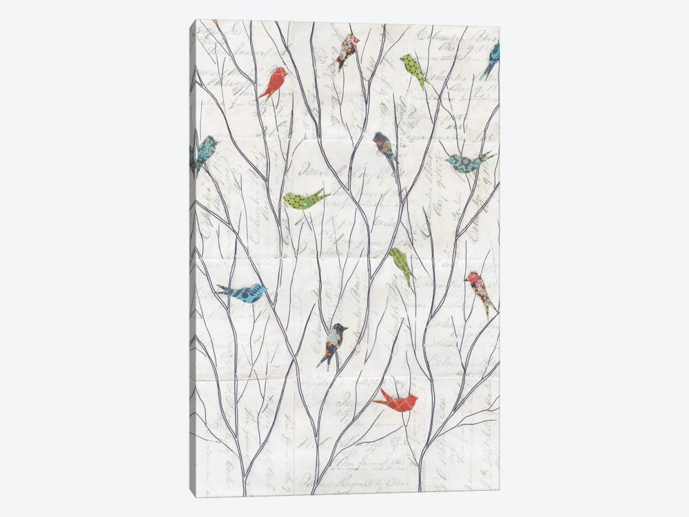 Summer Birds Background I by Courtney Prahl 1-piece Canvas Art