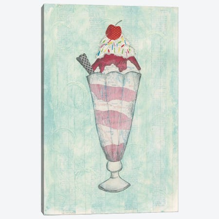 Sundae Delight I Canvas Print #WAC3835} by Courtney Prahl Canvas Wall Art
