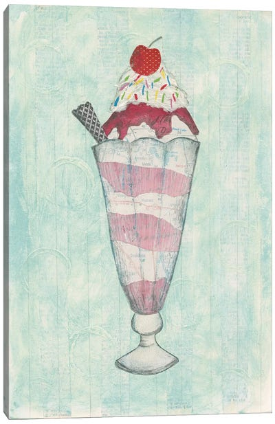 Sundae Delight I Canvas Art Print
