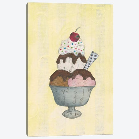 Sundae Delight II Canvas Print #WAC3836} by Courtney Prahl Canvas Art
