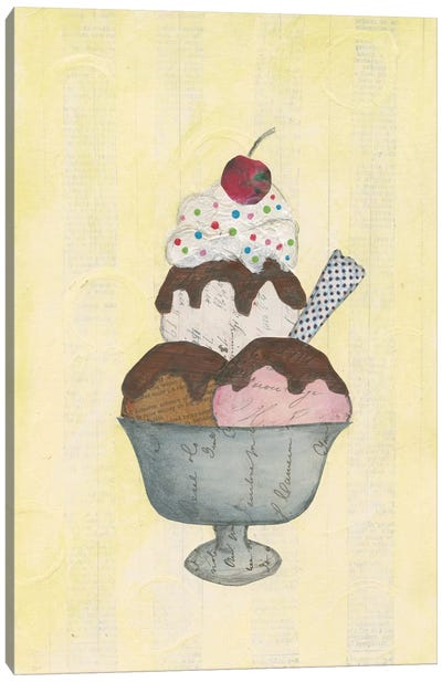 Sundae Delight II Canvas Art Print