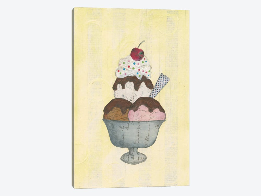 Sundae Delight II by Courtney Prahl 1-piece Canvas Art