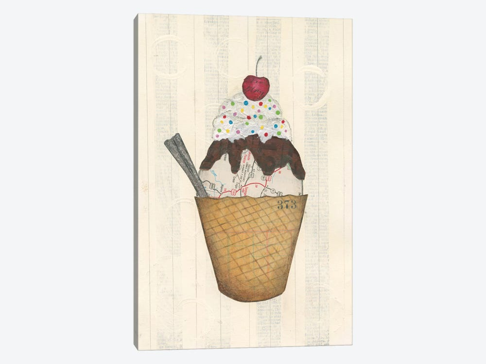 Sundae Delight III by Courtney Prahl 1-piece Canvas Art Print