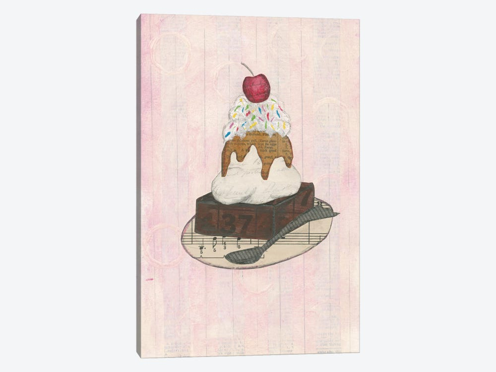 Sundae Delight IV by Courtney Prahl 1-piece Canvas Wall Art