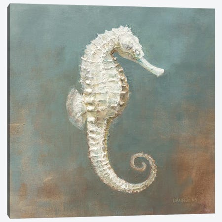 Treasures From The Sea I Canvas Print #WAC3841} by Danhui Nai Canvas Artwork