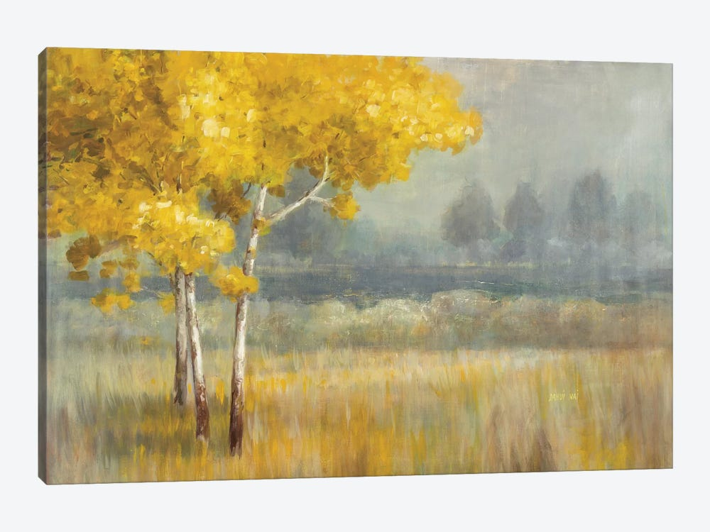 Yellow Landscape Canvas Print by Danhui Nai | iCanvas