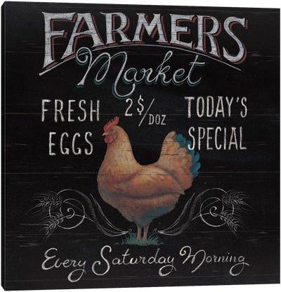 Farmers Market I Canvas Art Print