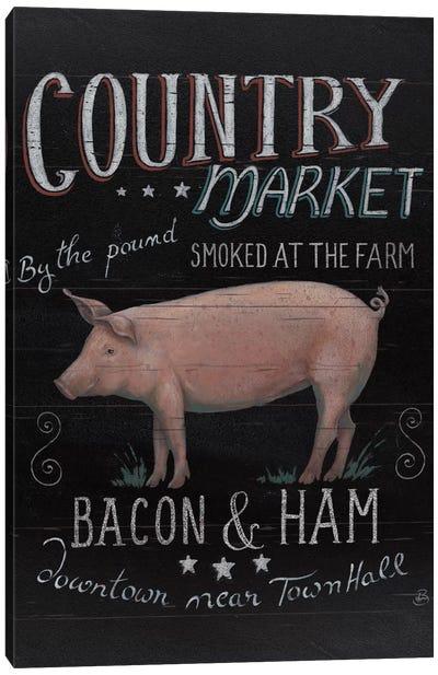 Farmers Market III Canvas Art Print