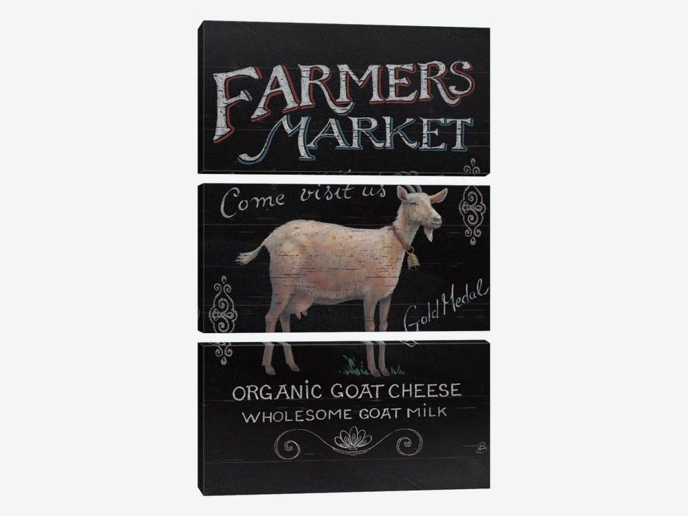 Farmers Market IV by Daphne Brissonnet 3-piece Canvas Art Print