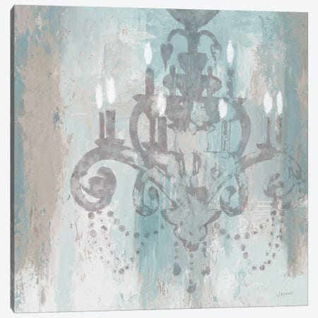 Candelabra II (Teal) Canvas Print #WAC3868} by James Wiens Canvas Art