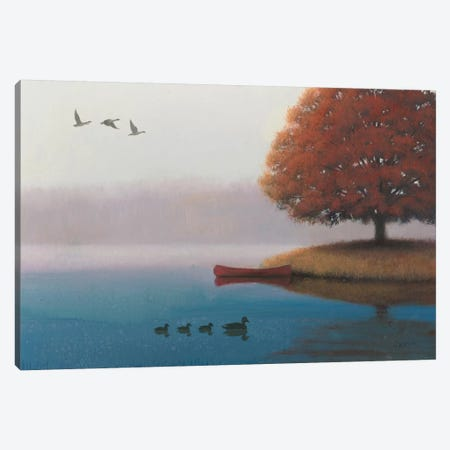 Early In The Morning Canvas Print #WAC3869} by James Wiens Canvas Artwork