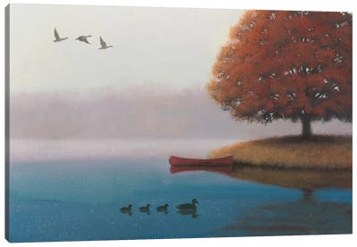Early In The Morning Canvas Art Print