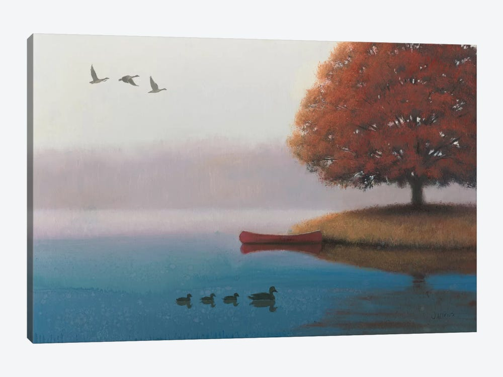 Early In The Morning by James Wiens 1-piece Canvas Wall Art