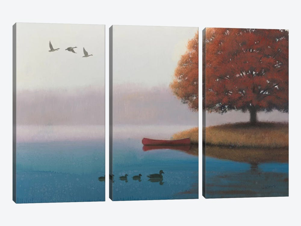 Early In The Morning 3-piece Canvas Artwork