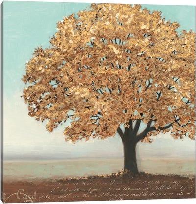 Gold Reflections I Canvas Art Print