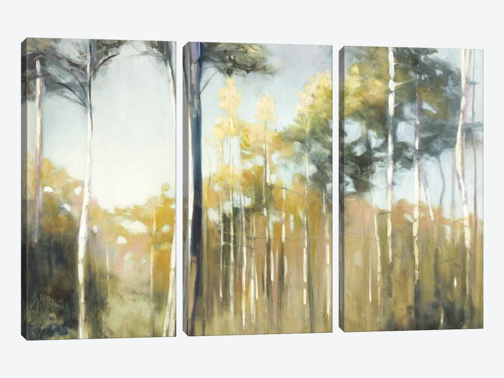 Aspen Reverie by Julia Purinton 3-piece Canvas Art Print