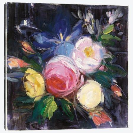 Floral Fun I Canvas Print #WAC3878} by Julia Purinton Art Print