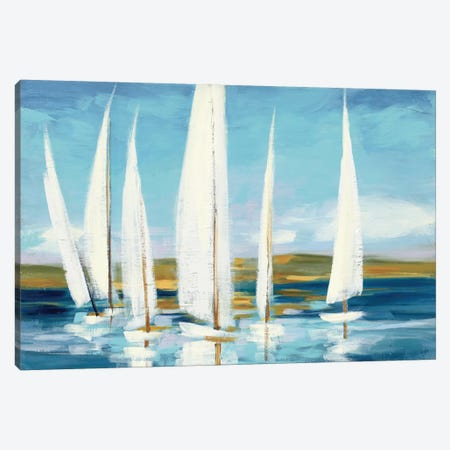 Horizon Canvas Print #WAC3879} by Julia Purinton Art Print