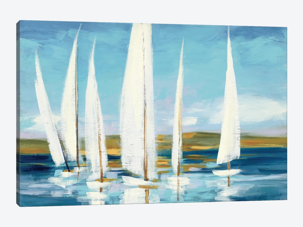 Horizon by Julia Purinton 1-piece Art Print