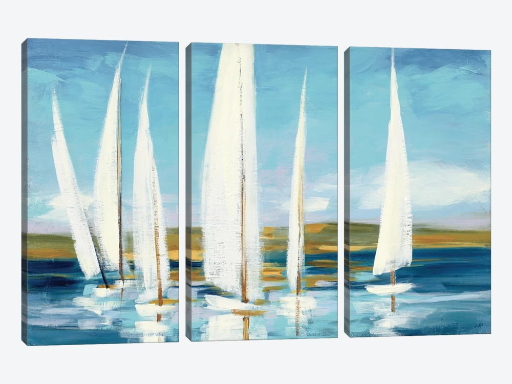 Horizon by Julia Purinton 3-piece Canvas Art Print