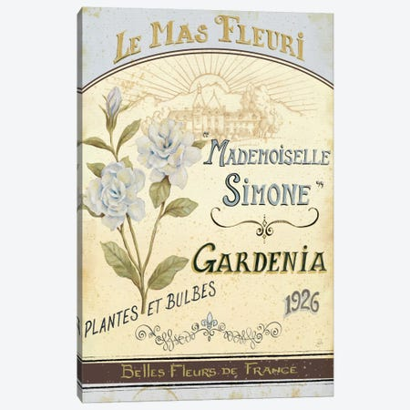 French Seed Packet IV  Canvas Print #WAC387} by Daphne Brissonnet Canvas Wall Art