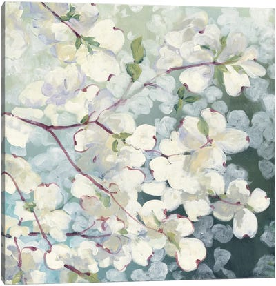 Magnolia Delight Canvas Art Print