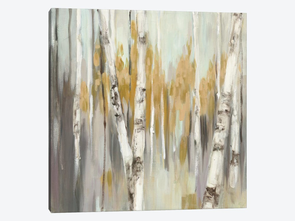 Silver Birch I by Julia Purinton 1-piece Canvas Wall Art