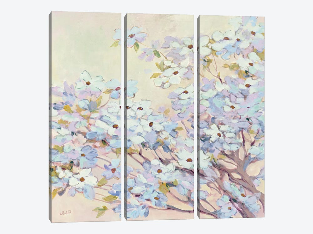Spring Dogwood I by Julia Purinton 3-piece Canvas Artwork